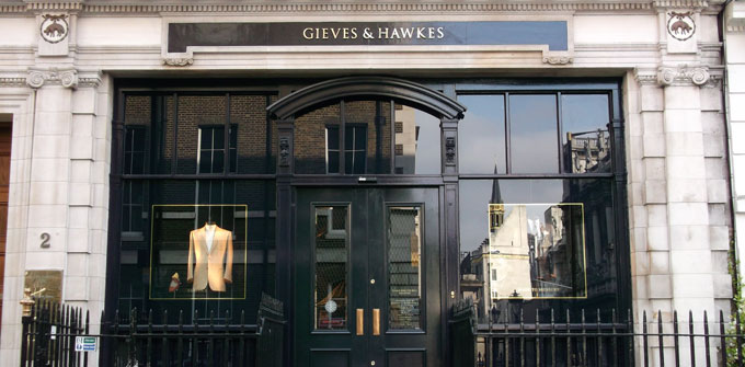 Display Cabinetry on Saville Row